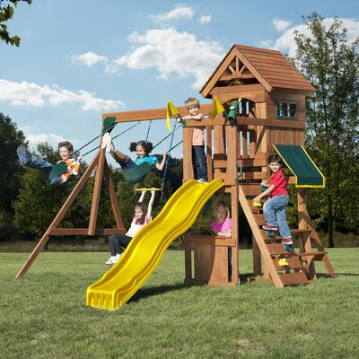 Jamboree Fort Play Swing Set Product Photo