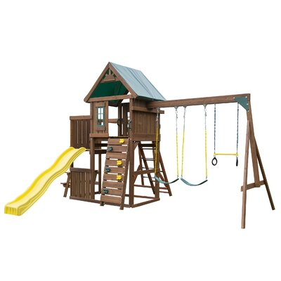 Swing-n-Slide Chesapeake Wood Complete Swing Set