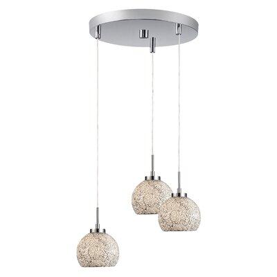 Woodbridge Lighting Ceiling Cluster 3 Light Mini Pendant