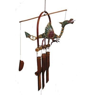 Cohasset Imports Dragon Flame Wind Chime