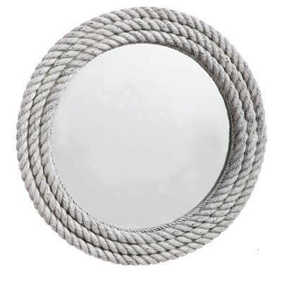 Aged Rope Wall Mirror by Evergreen Enterprises, Inc