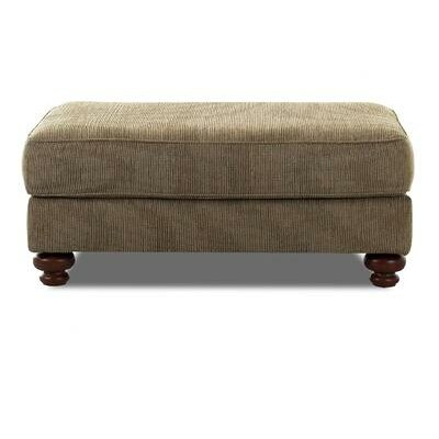 Conway Ottoman by Klaussner Furniture