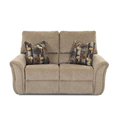 Miley Reclining Loveseat by Klaussner Furniture