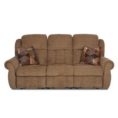 Wentworth Reclining Sofa by Klaussner Furniture