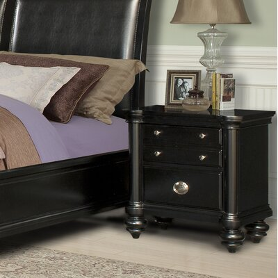 Klaussner Furniture Brady 2 Drawer Bachelor's Chest