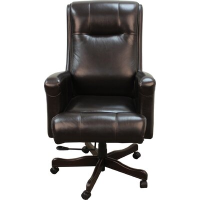 High-Back Executive Leather Executive Chair by Parker House