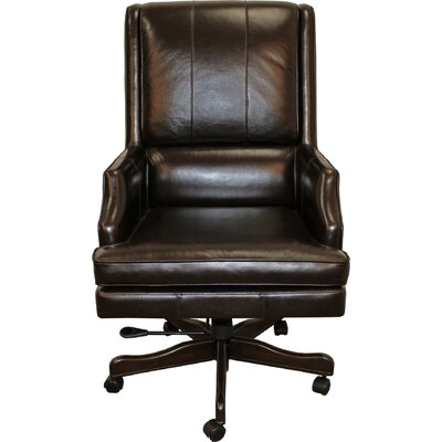 High Back Leather Executive Chair by Parker House