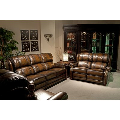 Parker House Furniture Twain Leather Living Room Collection