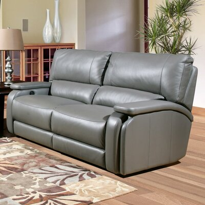 Grisham Dual Leather Power Reclining Sofa by Parker House