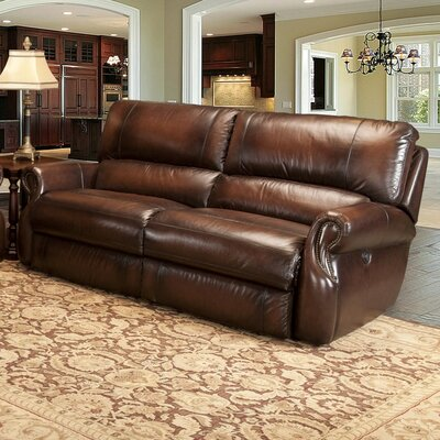 Hawthorne Dual Leather Power Reclining Sofa by Parker House