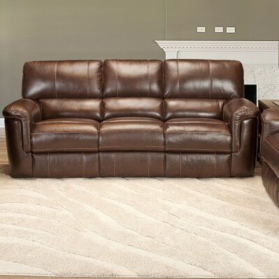 Hitchcock Dual Leather Power Reclining Sofa by Parker House