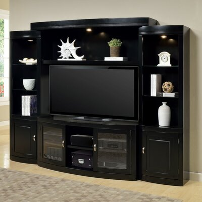 parker house premier boardwalk entertainment center reviews wayfair. Black Bedroom Furniture Sets. Home Design Ideas
