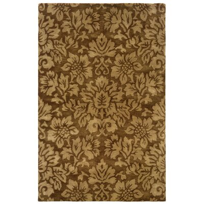 Majestic Brown Bold Floral Rug by LR Resources