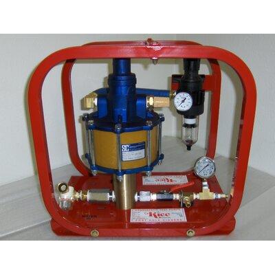3.5 GPM Pneumatic Hydrostatic Test Pump by Rice Hydro