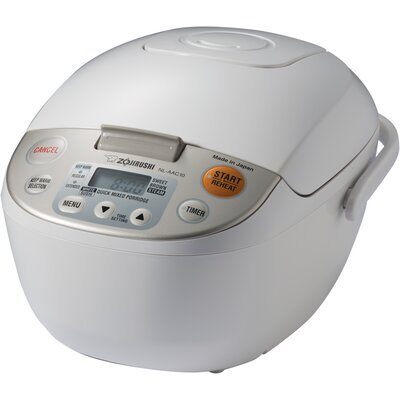 Neuro Fuzzy Steamer and Rice Cooker by Zojirushi