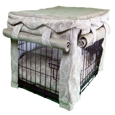 Snoozer Cabana Pet Crate Cover With Pillow Dog Bed