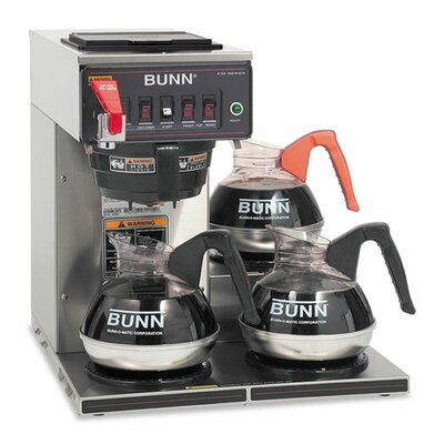 Commercially Rated Automatic Coffee Maker by Bunn
