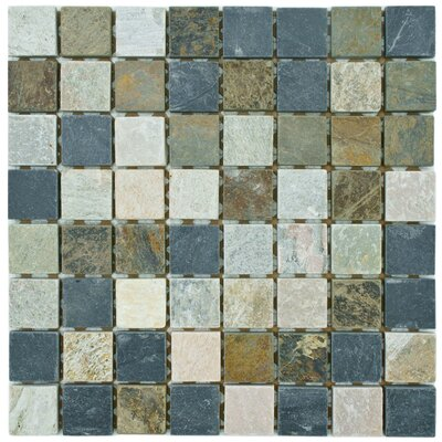 Peak Natural Stone Mosaic Tile in Gray by EliteTile