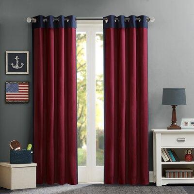 Liam Single Curtain Panel Product Photo