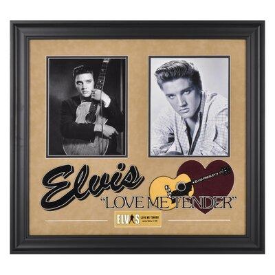 Mounted Memories Elvis Presley 'Love Me Tender' I Framed Memorabilia
