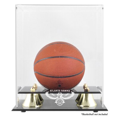 Mounted Memories NBA Golden Classic Logo Mini Basketball Display Case