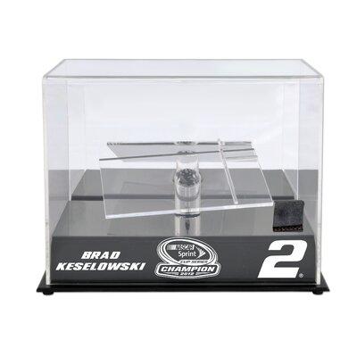 Mounted Memories NASCAR Ben Keselowski 2012 Sprint Cup Series Champion Die Cast Display Case