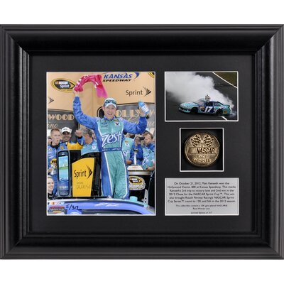 Mounted Memories NASCAR Matt Kenseth 2012 Hollywood Casino 400 Race Winner Framed Photograph