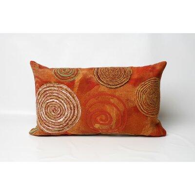 Liora Manne Graffiti Swirl Indoor/Outdoor Lumbar Pillow