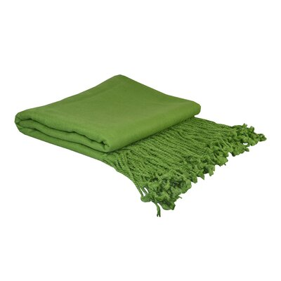 Pur Bamboo Velvet Throw by Cashmere Republic