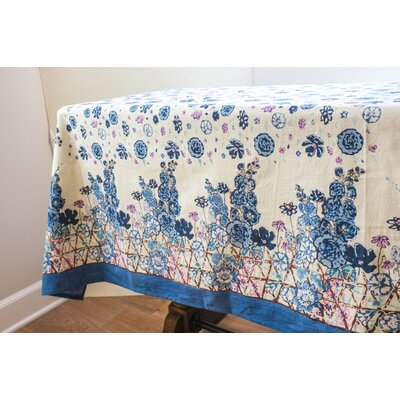 Fleur Sauvage Tablecloth by Couleur Nature