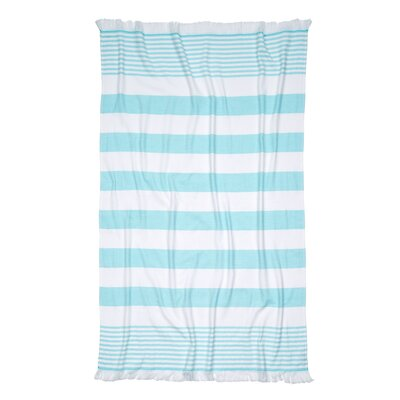 Carmel Stripe Beach Towel by Nine Space