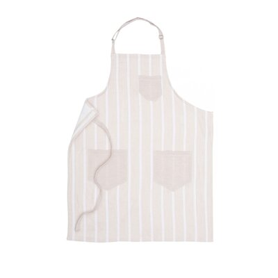 Thin Stripe Adult Apron by Nine Space