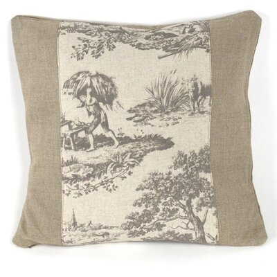 Zentique Inc. French Inspired Linen Throw Pillow