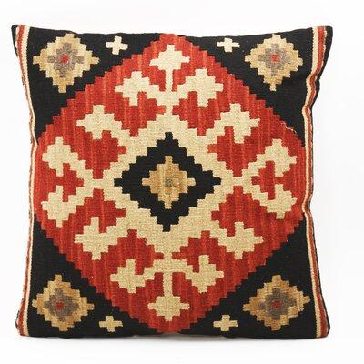 Zentique Inc. Gandhi Kilim Linen Throw Pillow