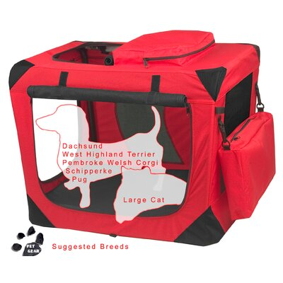 Pet Gear Home' n Go Generation II Deluxe Portable Small Pet Crate