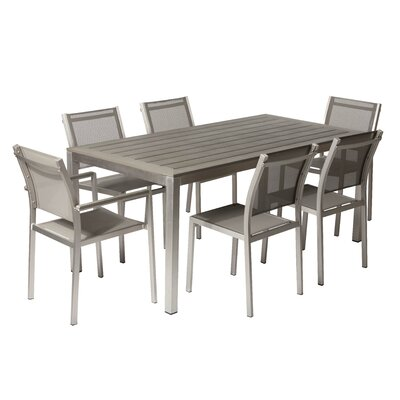 David 7 Piece Dining Set by Pangea Home