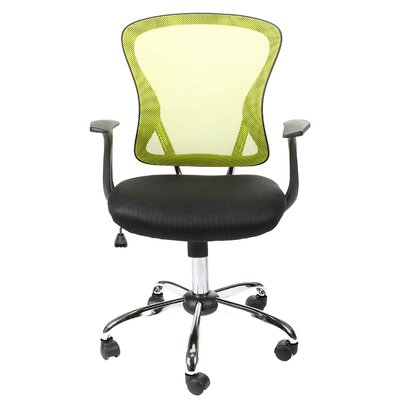 Mesh Office Task Chair with Arms by Merax