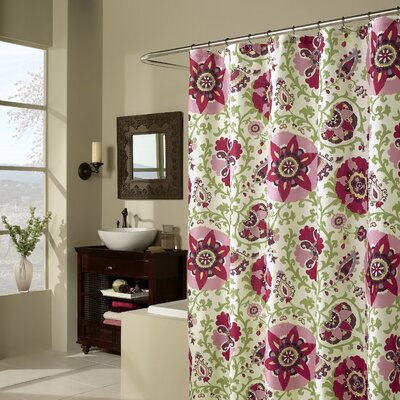 m.style Medallions Shower Curtain