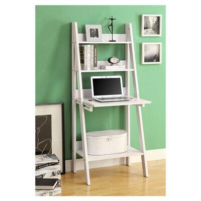 "Monarch Specialties Inc. Ladder 61"" Accent Shelves"