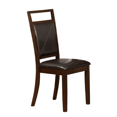 Side Chairs in Brown by Monarch Specialties Inc.