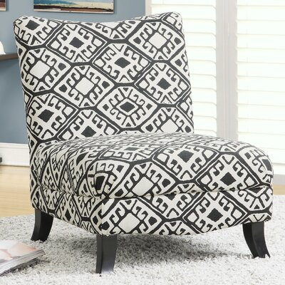 Abstract Slipper Chair by Monarch Specialties Inc.