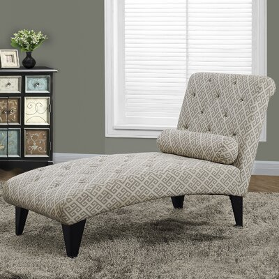 Maze Chaise Lounge by Monarch Specialties Inc.