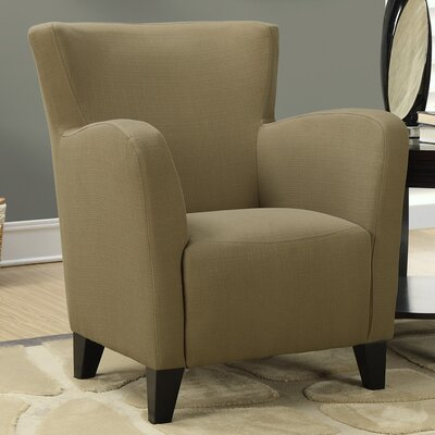Linen Arm Chair by Monarch Specialties Inc.