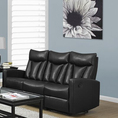 Monarch Specialties Inc. I 87 Reclining Sofa