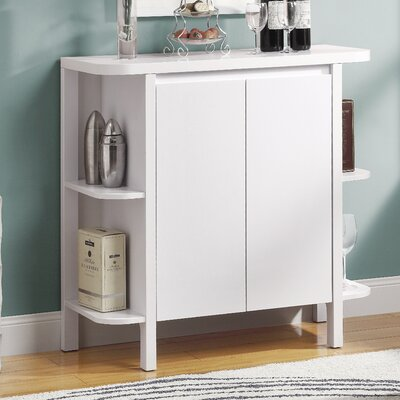 Bar Cabinet with Wine Storage by Monarch Specialties Inc.