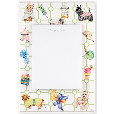 Stupell Industries Dog Themed Dry Erase Board