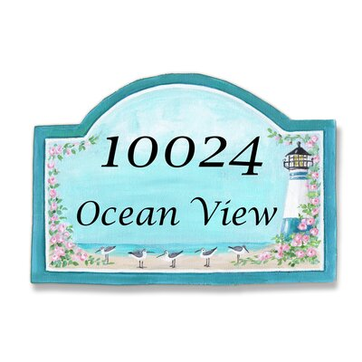 Personalized Arched Lighthouse Wall Plaque by Stupell Industries