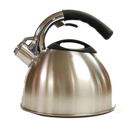 Ellipse 2.8-qt. Whistling Tea Kettle by Creative Home