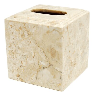 Universal Boutique Marble Tissue Box Holder by Creative Home
