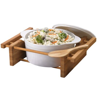 2.5-qt. Oval Casserole by Creative Home